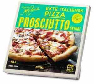 Prøv også Rema 1000 Pizza prosciutto.