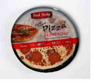 Prøv også Fersk og ferdig pizza pepperoni.