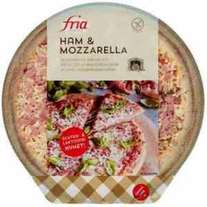 Prøv også Fria Pizza skinke og mozzarella.