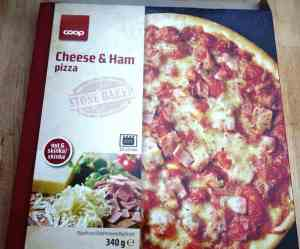 Prøv også Coop Pizza Cheese and ham.