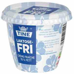 Prøv også Tine laktosefri creme fraiche.