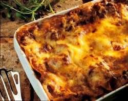Prøv også Lasagne med kjøttdeig.