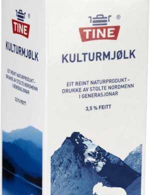 Prøv også Tine Melk Kultur.