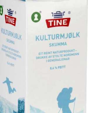 Prøv også Tine Melk Skummet Kultur.