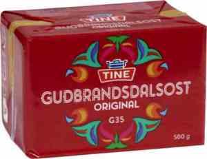 Prøv også Tine Gudbrandsdalsost original.