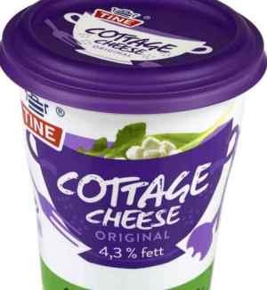 Prøv også Tine Cottage Cheese Original.
