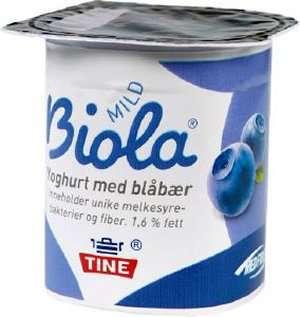 Biola yoghurt