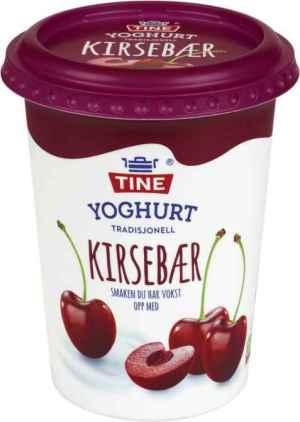 Prøv også TINE Yoghurt Kirsebær.