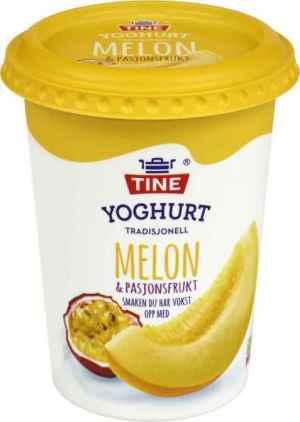Prøv også TINE Yoghurt Melon/Pasjonsfrukt.