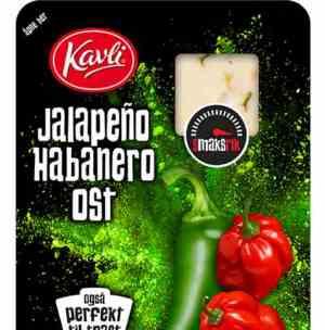Prøv også Kavli skivet ost med jalapeno.