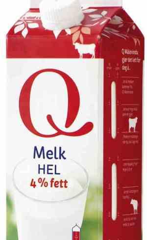 Prøv også Q melk hel.