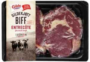 Prøv også Gilde Biff Entrecote.