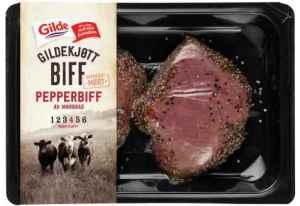 Prøv også Gilde pepperbiff av mørbrad.