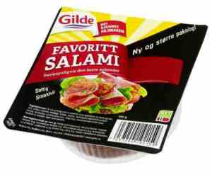 Prøv også Gilde Favorittsalami.