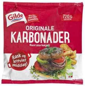 Prøv også Gilde Karbonader original.