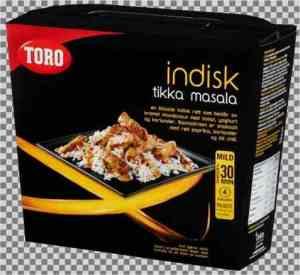 Les mer om Toro indisk tikka masala hos oss.