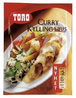 Prøv også Toro curry kyllingsaus.