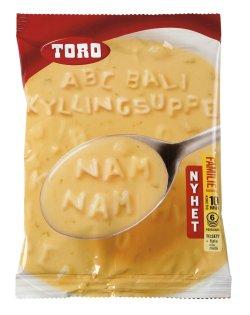Prøv også Toro ABC Bali Kyllingsuppe.