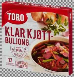 Les mer om Toro Kj�ttbuljong terninger hos oss.