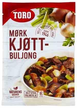 Les mer om Toro M�rkt Kj�ttbuljong pulver hos oss.