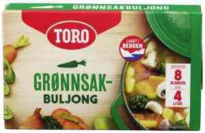 Les mer om Toro gr�nnsaksbuljong hos oss.