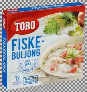 Les mer om Toro fiskebuljong hos oss.