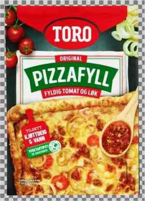 Prøv også Toro pizzafyll med tomat og løk.