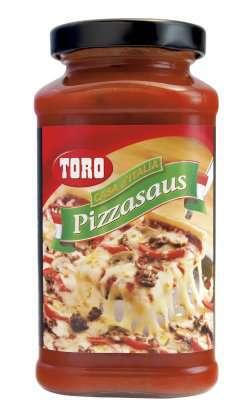 Prøv også Toro pizzasaus casa de italia.
