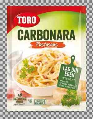 Prøv også Toro pastasaus carbonara.