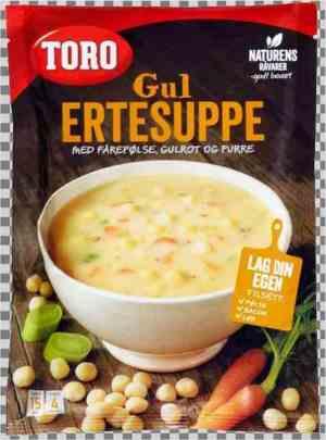 Prøv også Toro gul ertesuppe.