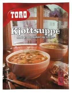 Prøv også Toro kjøttsuppe med grønnsaker og boller.