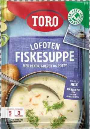 Prøv også Toro lofoten fiskesuppe.