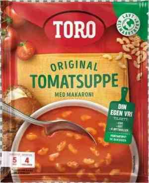 Prøv også Toro tomatsuppe med makaroni.