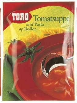 Prøv også Toro tomatsuppe med pasta og boller.