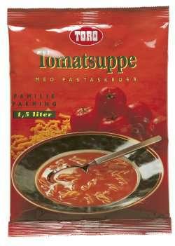 Prøv også Toro tomatsuppe med pastaskruer.