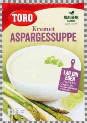 Prøv også Toro kremet aspargessuppe.