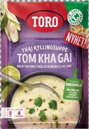 Prøv også Toro thailandsk kyllingsuppe Tom Kha Gai.