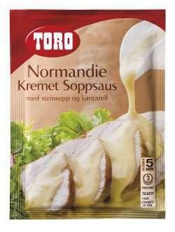Bilde av Toro Normandie kremet soppsaus med steinsopp og kantarell.