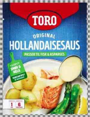 Prøv også Toro hollandaisesaus tilberedt.