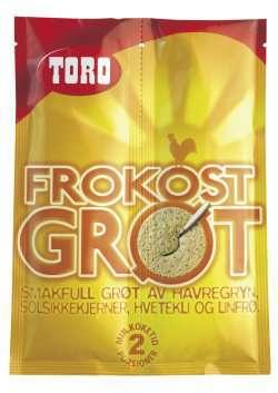 Prøv også Toro frokostgrøt.