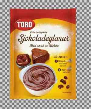Les mer om Toro sjokoladeglasur hos oss.