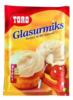Les mer om Toro glasurmiks melisglasur hos oss.