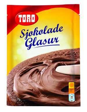 Les mer om Toro glasurmiks lys sjokolade hos oss.