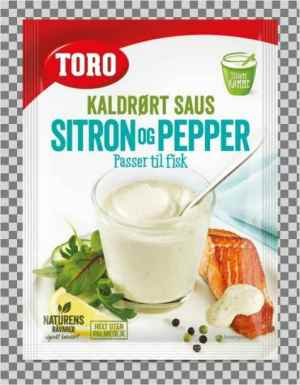 Prøv også Toro kaldrørt sitron og peppersaus.