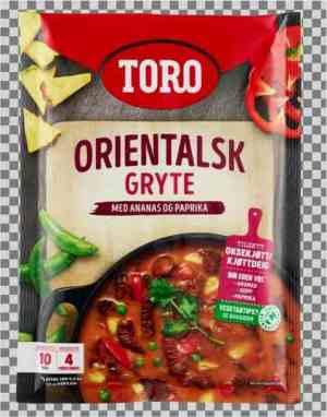 Les mer om Toro orientalsk gryte hos oss.