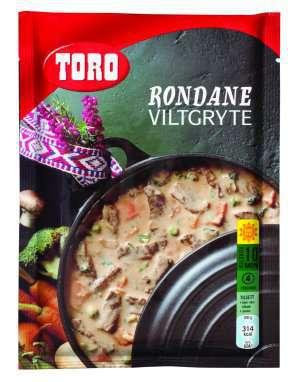 Prøv også Toro rondane viltgryte.