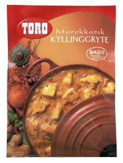Prøv også Toro marokkansk kyllinggryte.