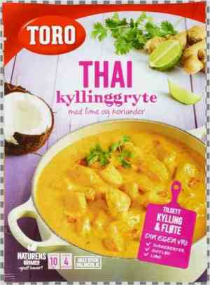 Prøv også Toro thai kyllinggryte.
