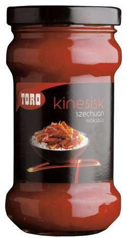 Prøv også Toro kinesisk szechuan woksaus.