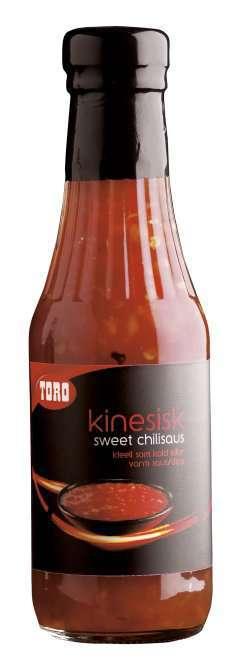 Prøv også Toro kinesisk sweet chilisaus.